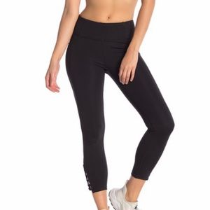 Nanette Lepore Racey Lacey Compression Leggings